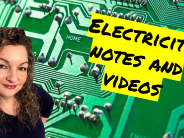 Electricity Unit Portfolio Guided Notes and Videos