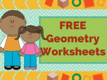 FREE Colorful Printable Geometry Worksheets - Grade 3 & Grade 4