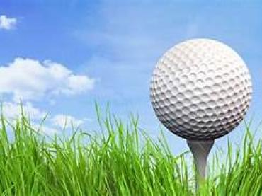 blue sky golf ball