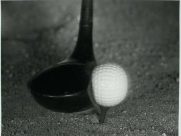 compressed golf ball