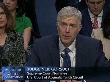 You be the Judge! Supreme Court Nominee Neil Gorsuch Activity