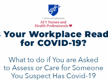 Workplace COVID-19 Preparedness: What to Do if You are Asked to Assess or Care for Someone You Suspect Has Covid-19