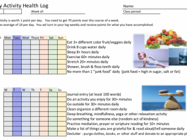 Daily Health Log