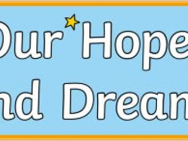 Hopes and Dreams HyperDoc template for positive emotional wellness and dreams for the future for Teachers, Parents and Studnets During