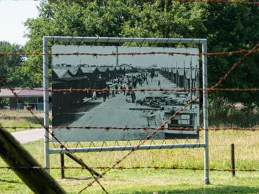https://www.istockphoto.com/photo/display-of-a-historic-picture-at-nazi-transit-camp-westerbork-gm509865216-86009839