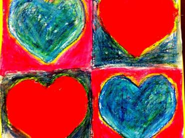 Jim Dine Hearts Art Lesson