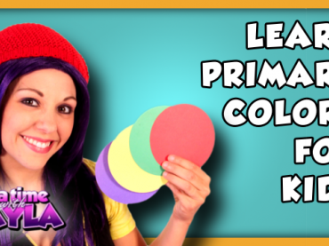 Learn Primary Colors for Kids | Learn Colors for Kids on Tea Time with Tayla