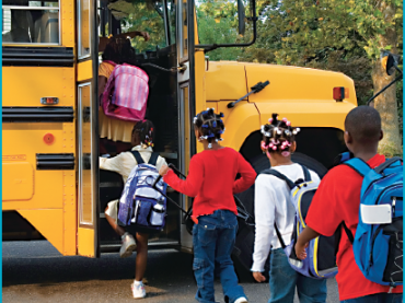 Student Behavior Management on the School Bus
