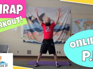 AMRAP Upper-Body Workout // Online Physical Education Workout and Mental Health // (Online Learning)