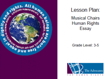 Lesson Plan: Musical Chairs Human Rights Essay