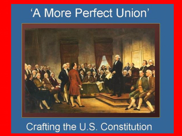 'A More Perfect Union': Constitution Day Activity