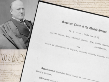 In the Courts: From Plessy to Brown