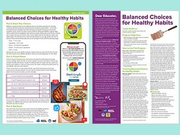 Balanced Choices for Healthy Habits - spotlight on pork