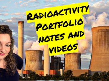 Radioactivity Unit Portfolio Guided Notes and Videos