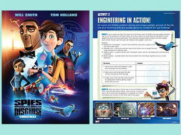 Spies in Disguise - a STEM adventure