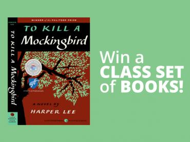 Giveaway Ended - To Kill a Mockingbird Book Giveaways: Win a Class Set!