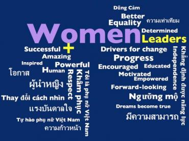 WOMEN'S HISTORY MONTH WORD CLOUDS