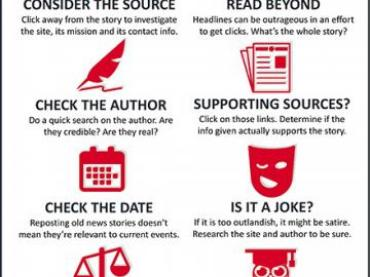 """#Crowdsearcher TOOL: video tutorial """"HOW TO SPOT FAKE NEWS"""" based on infographic from @IFLA"""