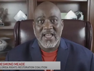 desmond meade speaks with pbs newshour extra about felon voters rights and disenfranchisement in florida