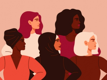 Diverse empowered women