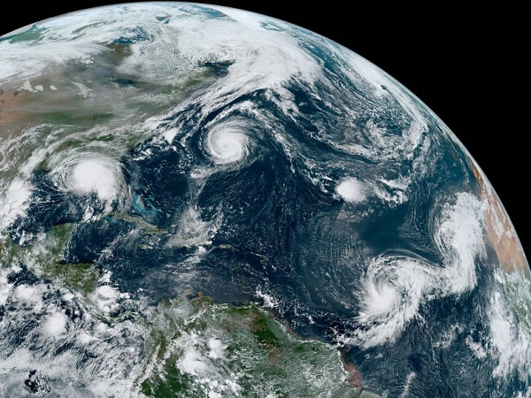 hurricane sally and other storms in the atlantic