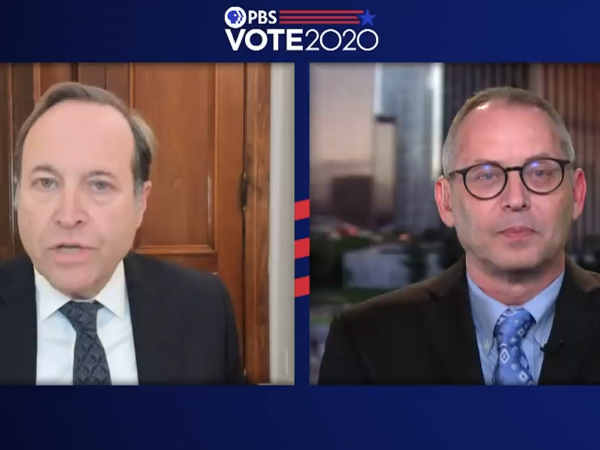 jeffrey brown and rick hasen speak about the contested election