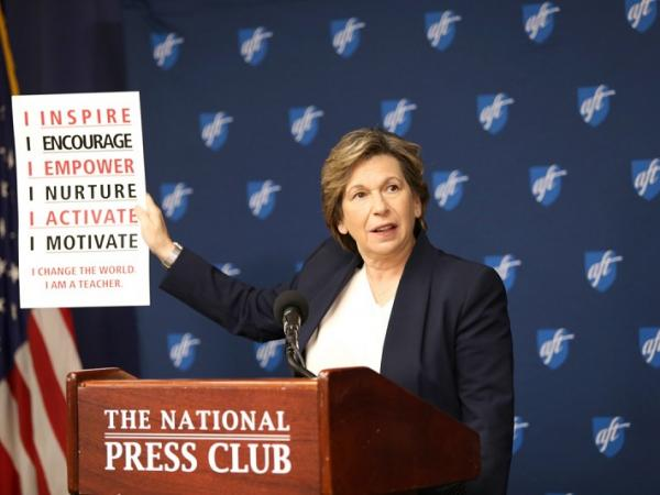 Randi Weingarten Freedom to Teach speech
