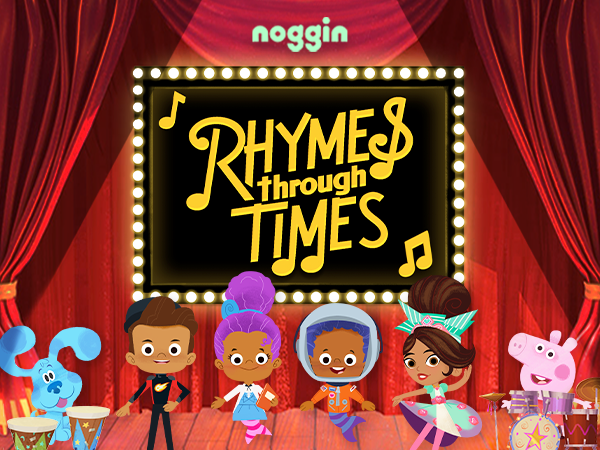 Teaching Anti-Racism and Social Justice with Nickelodeon & Noggin's Rhymes Through Times