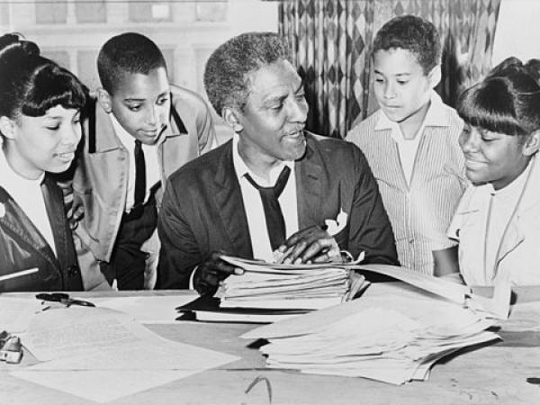 March on Washington Lesson Plan: Bayard Rustin