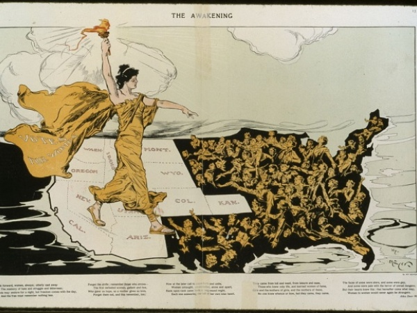 Timeline of Woman Suffrage by State