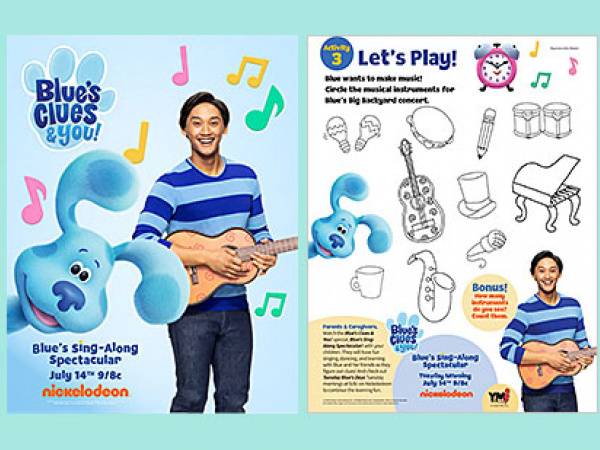 Blue's Clues Sing-Along Spectacular!