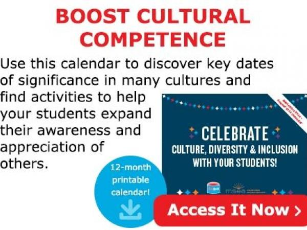 April Activities to Boost Cultural Competence