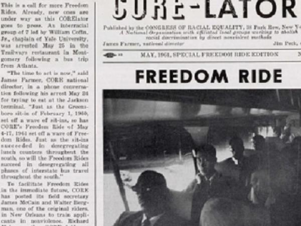 Newspaper Coverage of the Freedom Rides