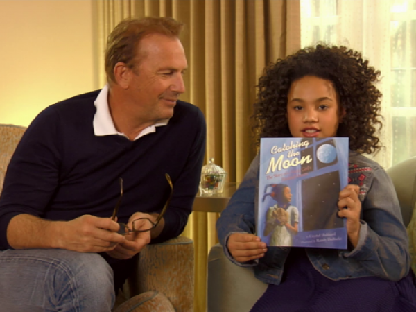 Catching the Moon read by Kevin Costner & Jillian Estell
