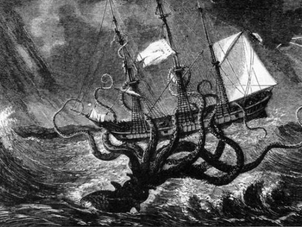 'The Kraken' by Alfred Lord Tennyson