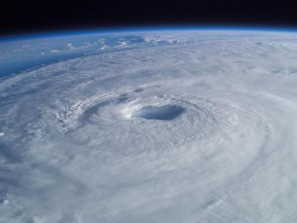 How did climate change affect Hurricanes Harvey and Irma?