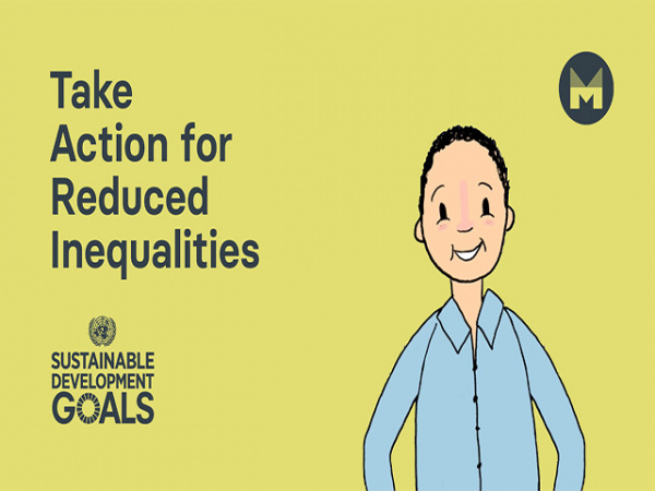 Take Action for Reduced Inequalities   Sustainable Development Goal 10   (Ages 11 - 17)