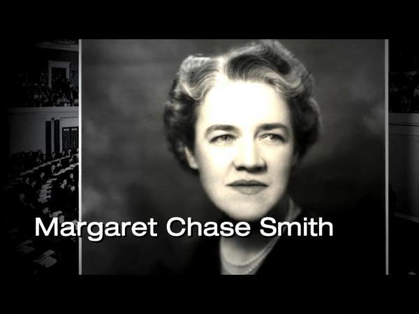 Margaret Chase Smith, a Declaration of Conscience