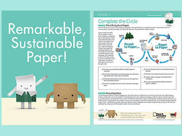 Remarkable, Sustainable Paper! (Recycling process)