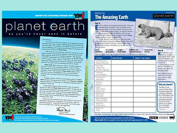Planet Earth Worksheets