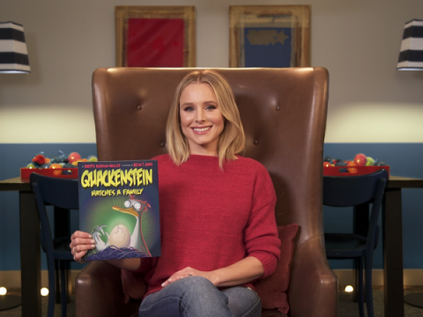 Quackenstein Hatches a Family read by Kristen Bell