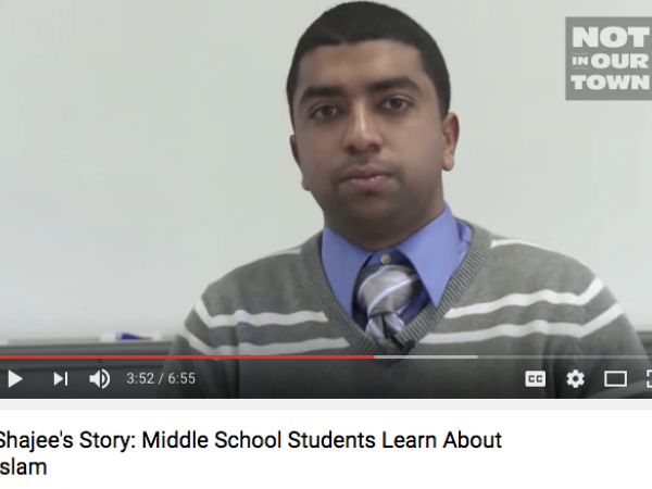 Shajee's Story; Middle School Students Learn About