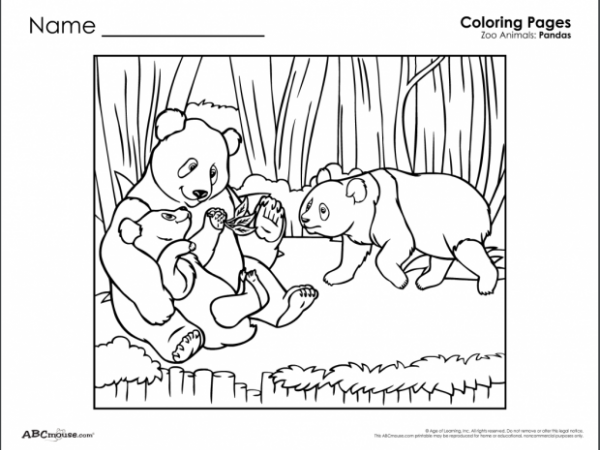 abc mouse coloring pages - photo#31