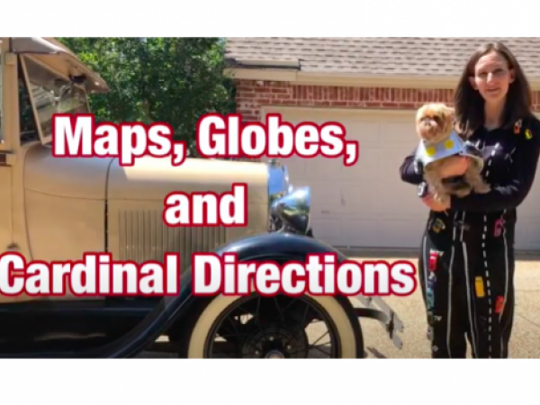Maps, Globes, and Cardinal Directions Lesson