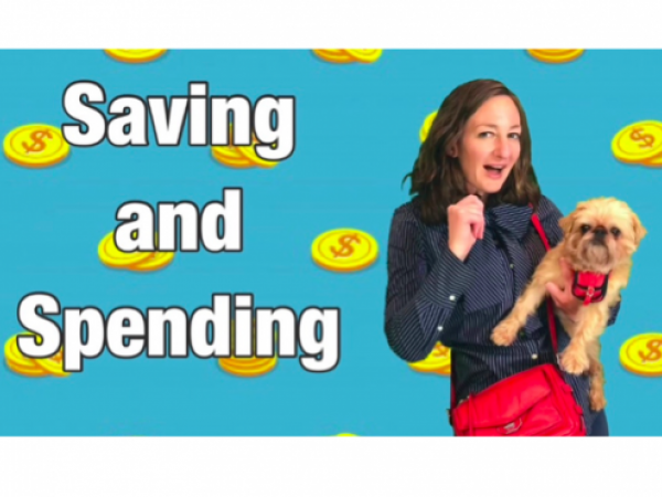 Saving and Spending Money Lesson for Kids