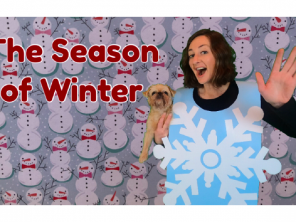 The Season of Winter Lesson for Kids