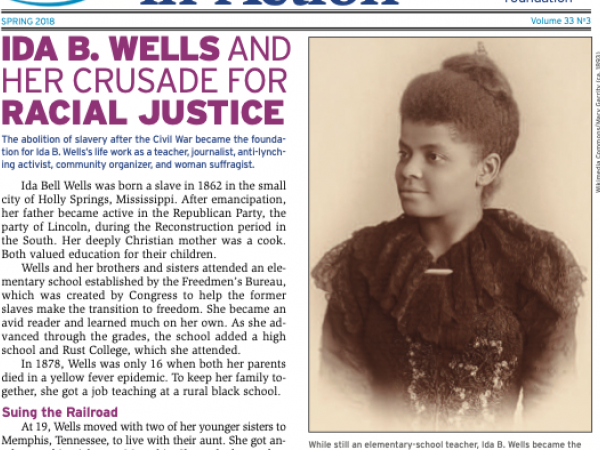 Ida B. Wells and Her Crusade for Racial Justice