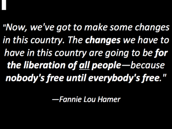 Fannie Lou Hamer and the Struggle for Voting Rights and Economic Justice