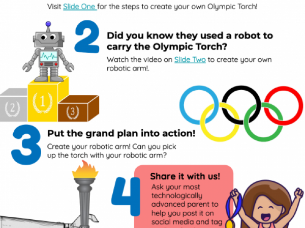 Create Your Own Olympic Torch!