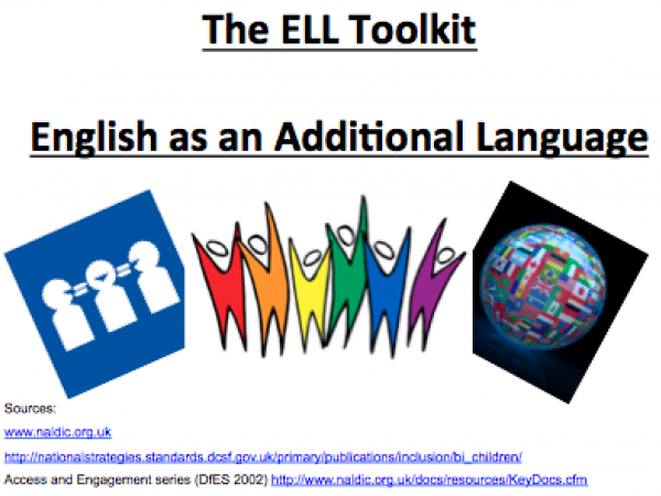 English Language Learners (ELL) Toolkit